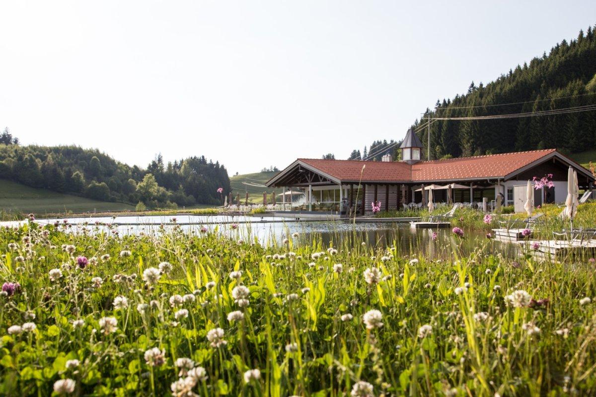 2500 qm Wasserfläche und das neue Haus am See. Ein