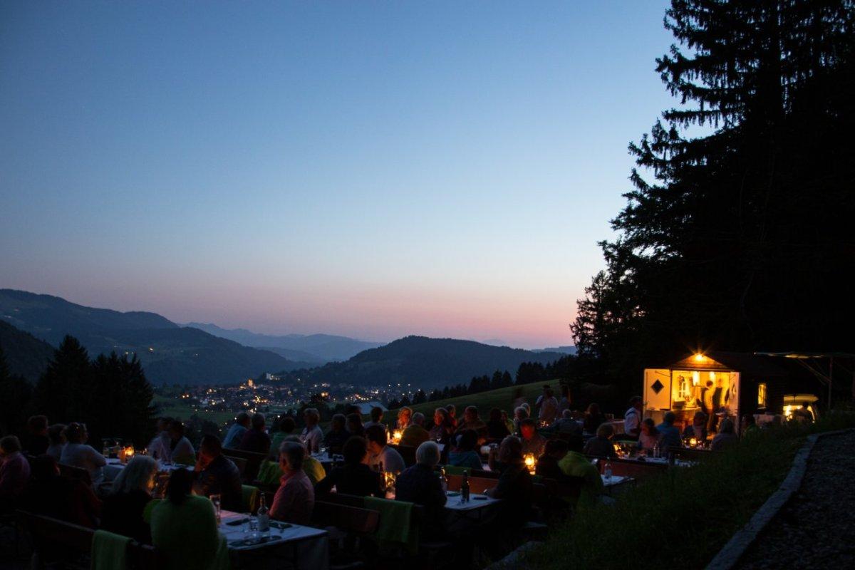 Gourmet am Berg | Lauer Sommerabend