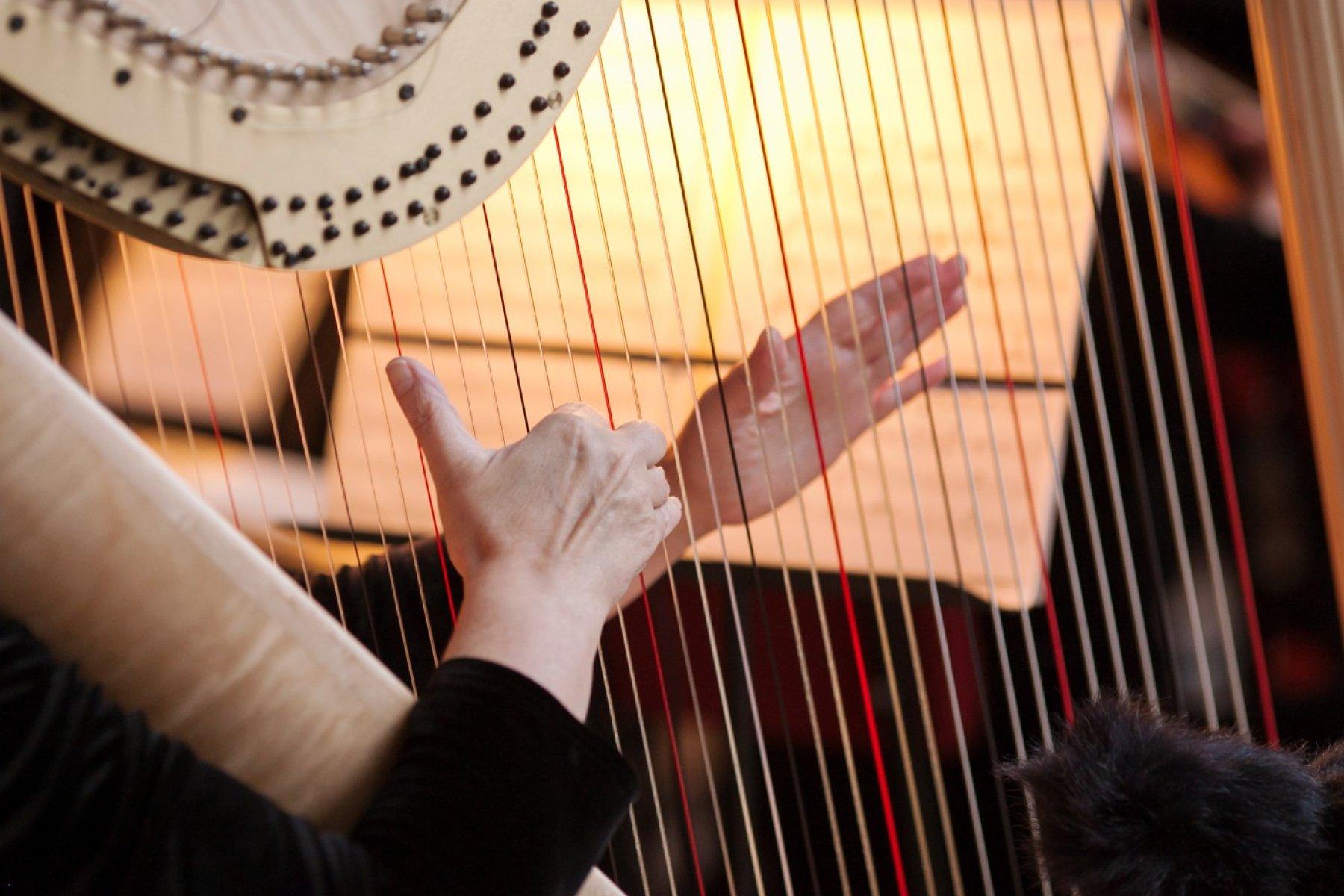 Harfenmusik