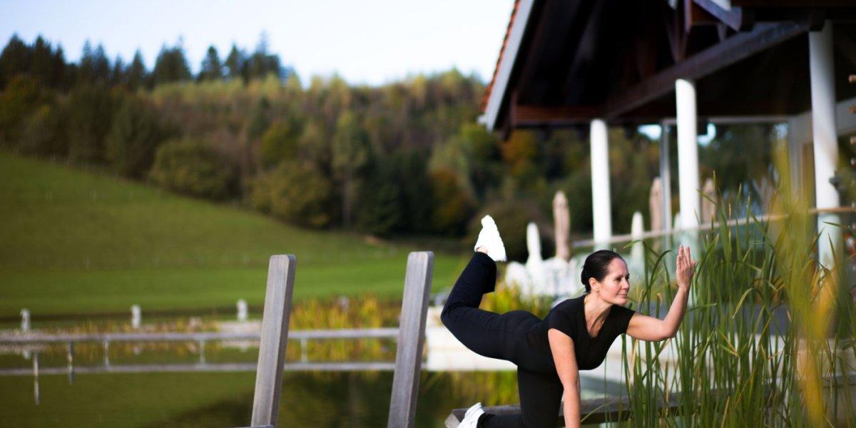 Yoga am Steg