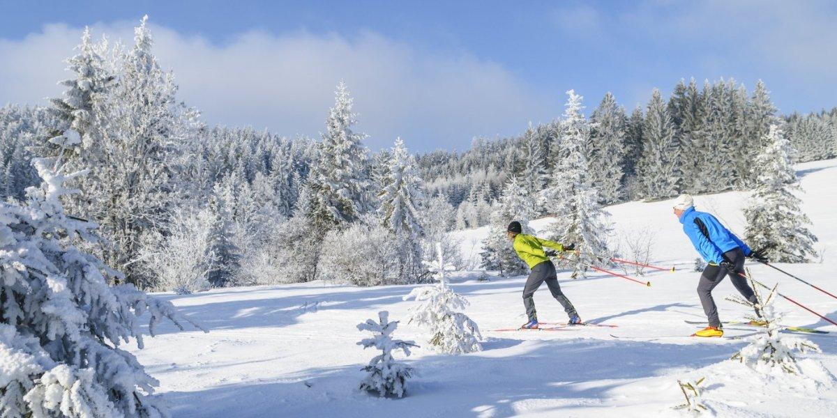 Langlaufen in Oberstaufen