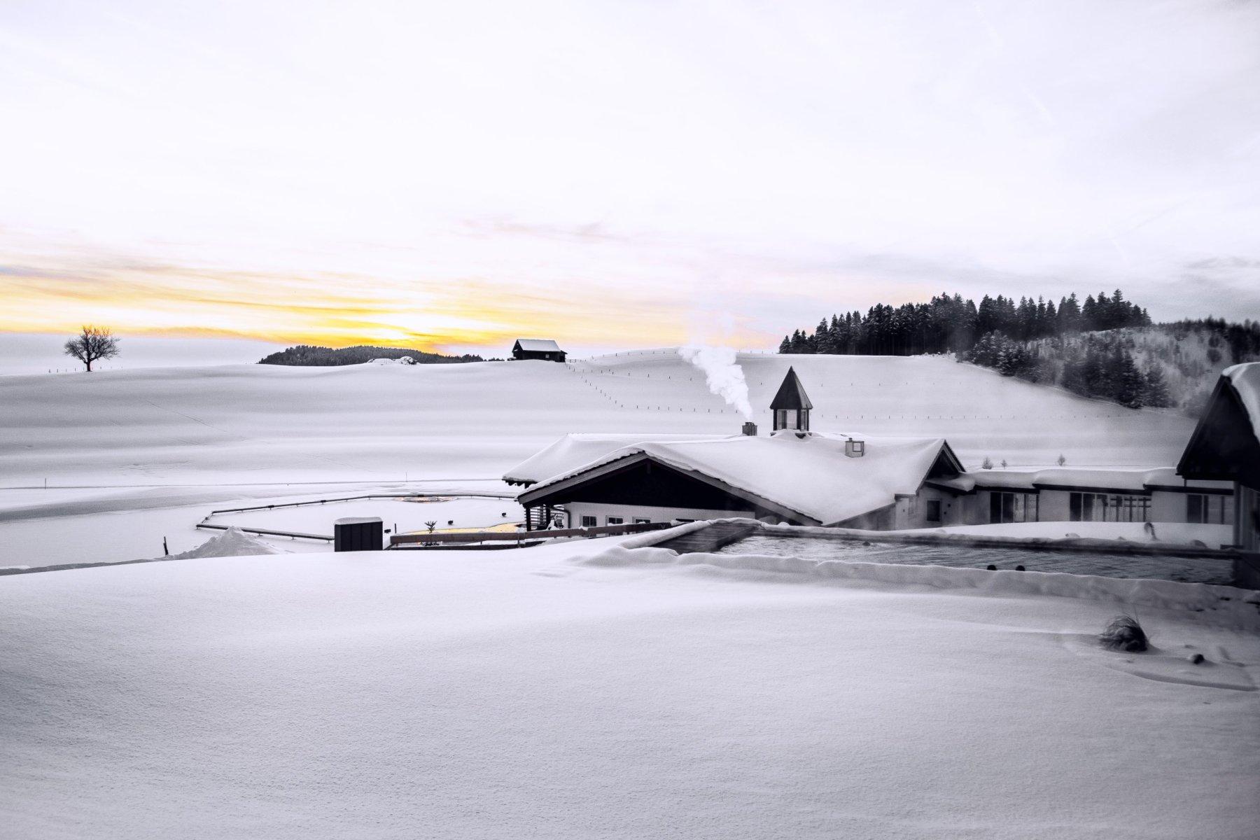 Haus am See Winterzeit