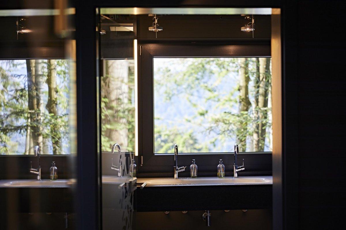 Waldtoilette am Schwalbennest
