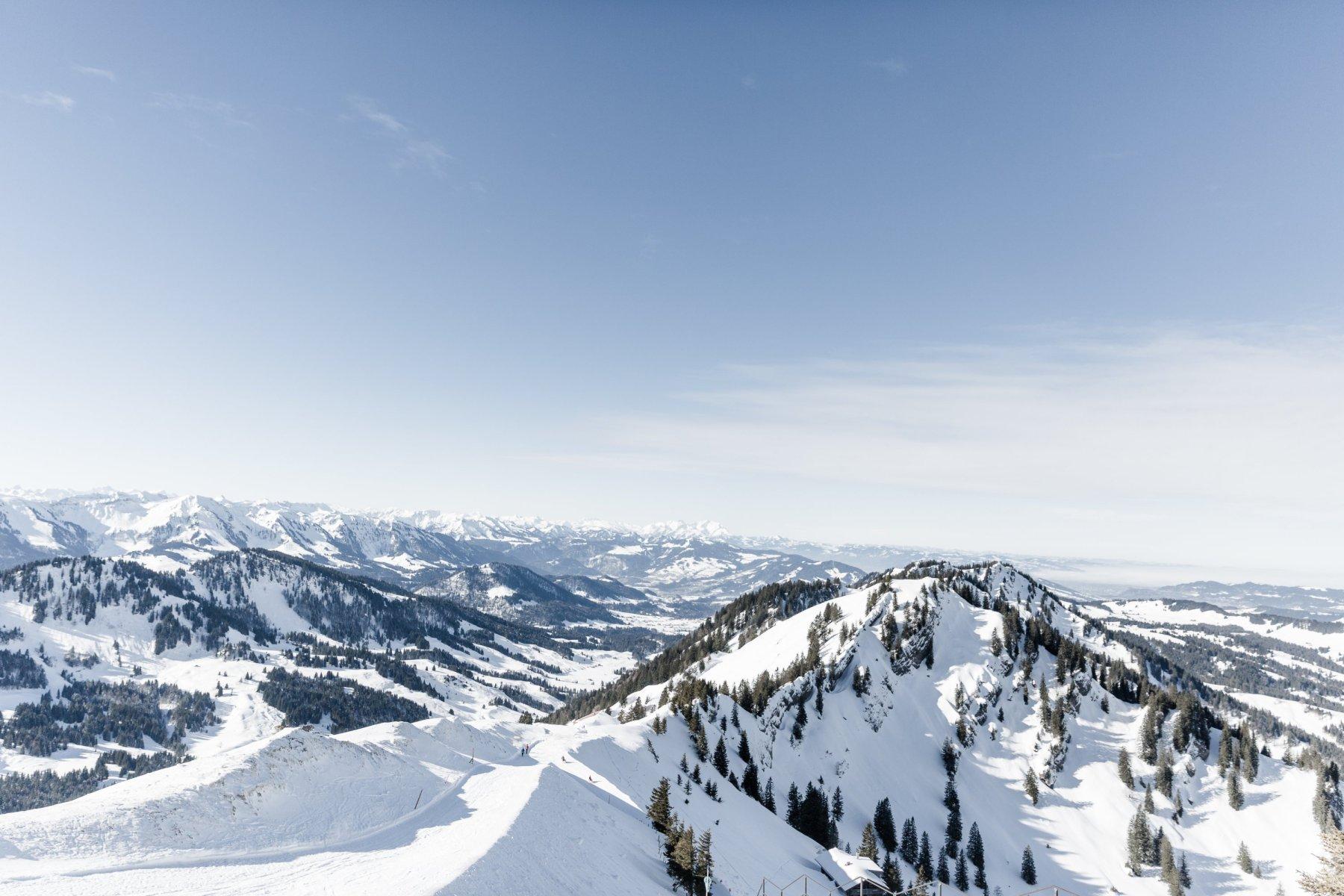 Winterlandschaft Oberstaufen