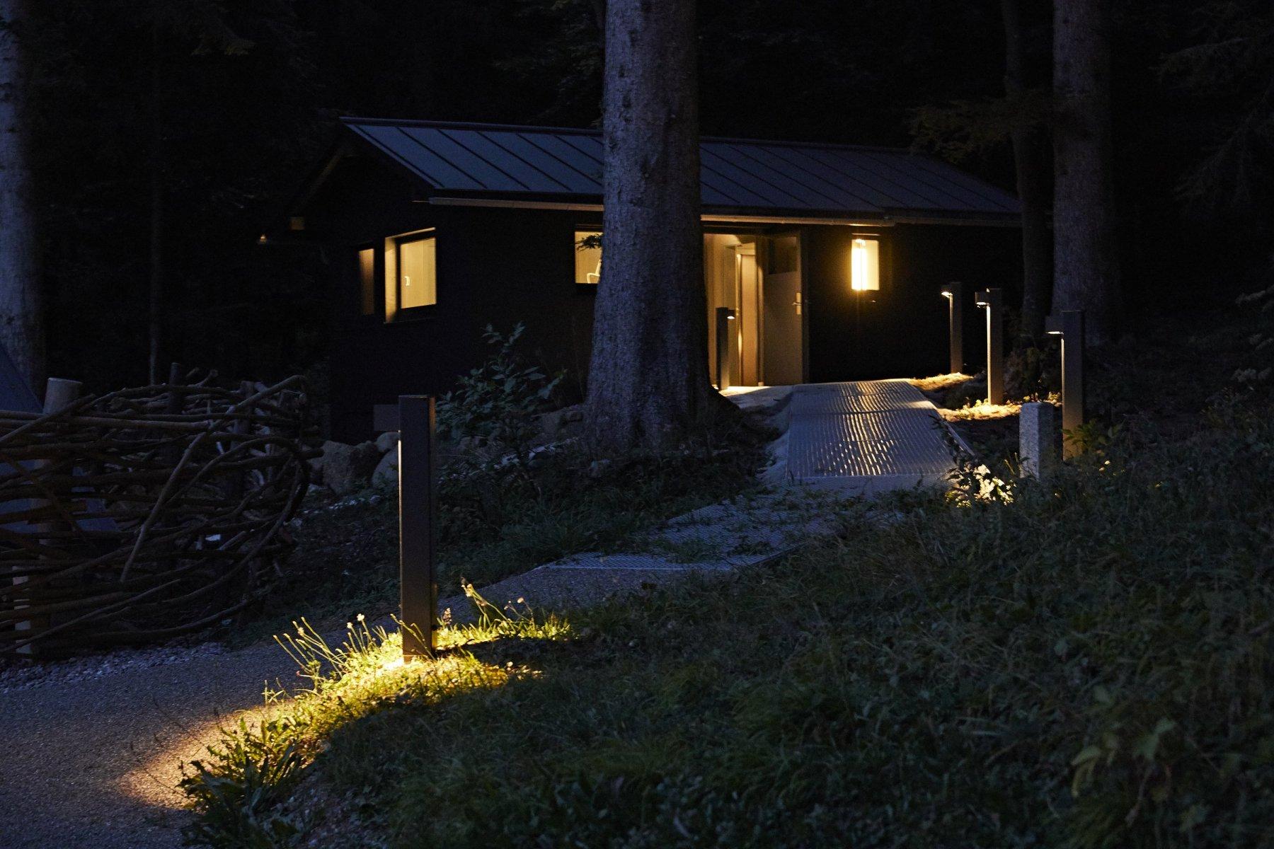 Das Stille Örtchen im Wald