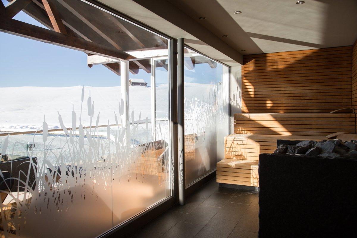 Sauna Bergfeuer im Haus am See