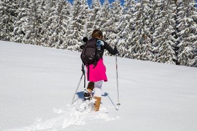 Schneeschuhwanderung zur Jugethöhe