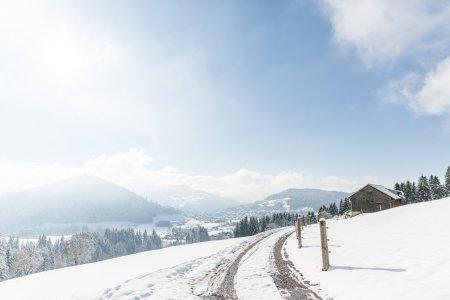 Winterspaziergang am Klimapfad