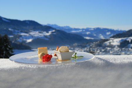 Kulinarik im Schnee