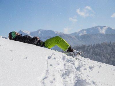 Schneeschuhwandern zur Jugethöhe