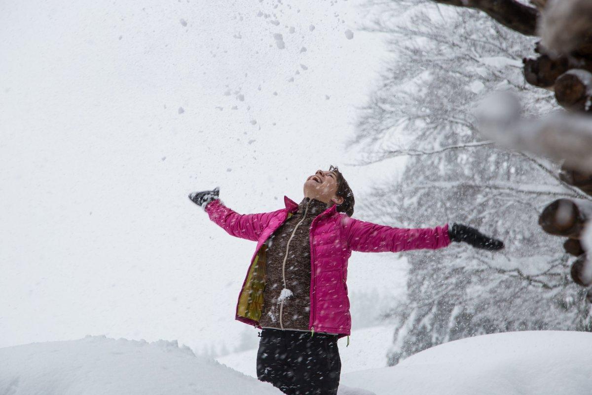 Pulverschnee und bestes Winterwetter