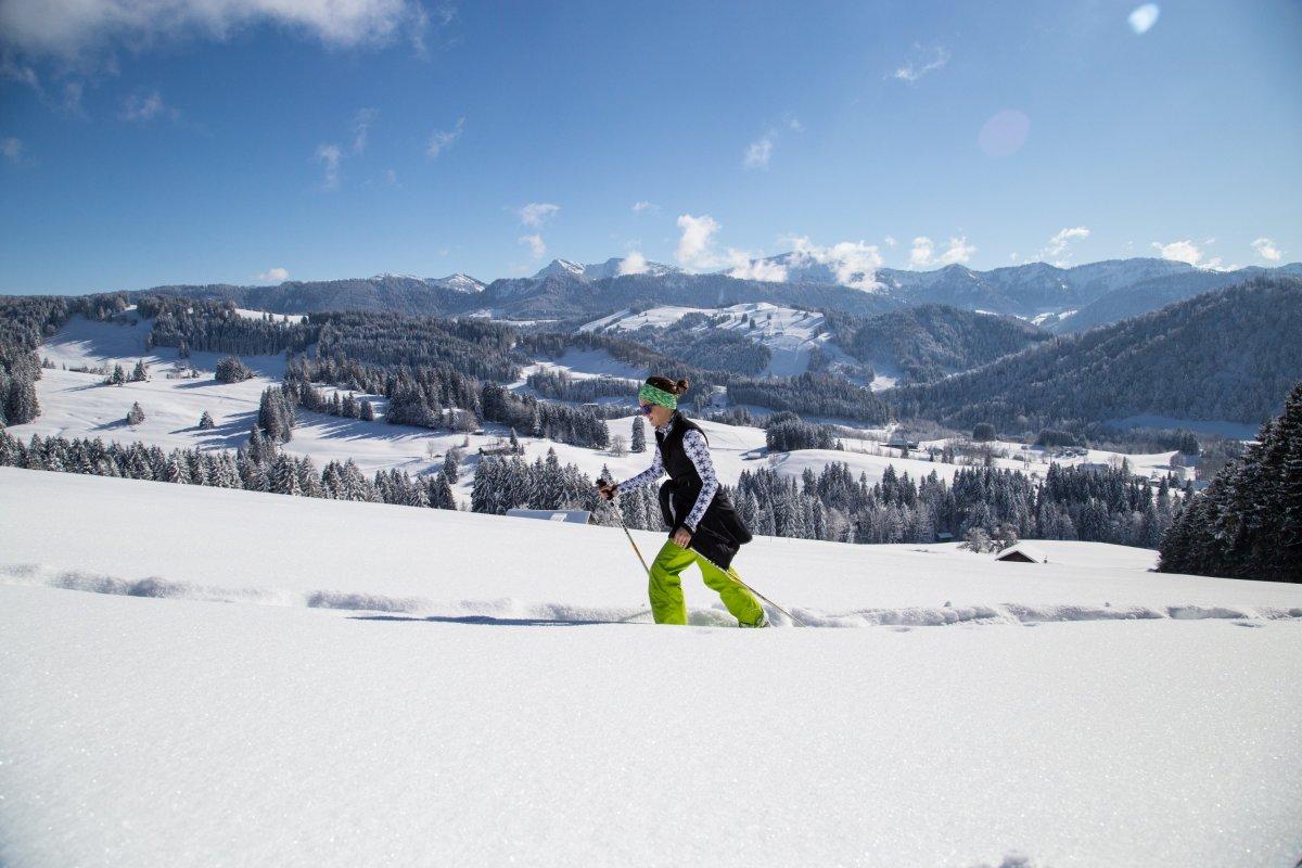 Schneeschuhwanderung Jugethöhe