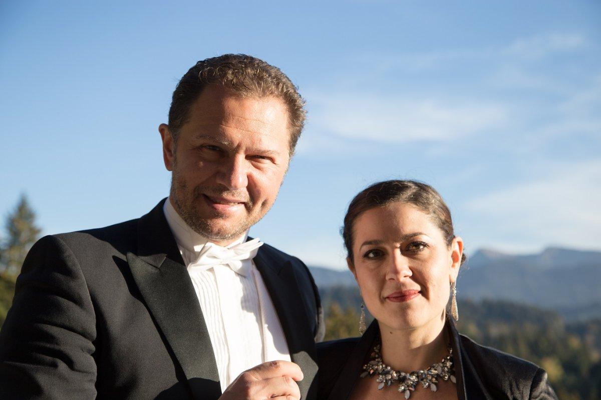 Lida und Martin Panteleev