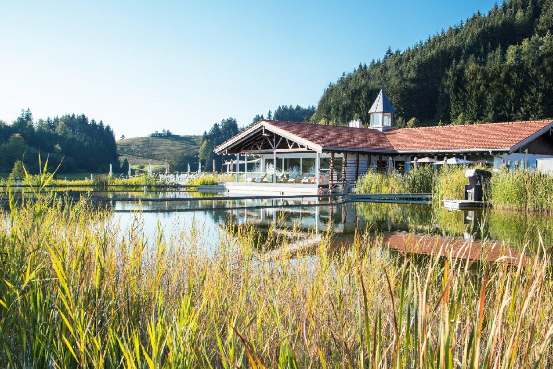Haubers Natursee zur Herbstzeit