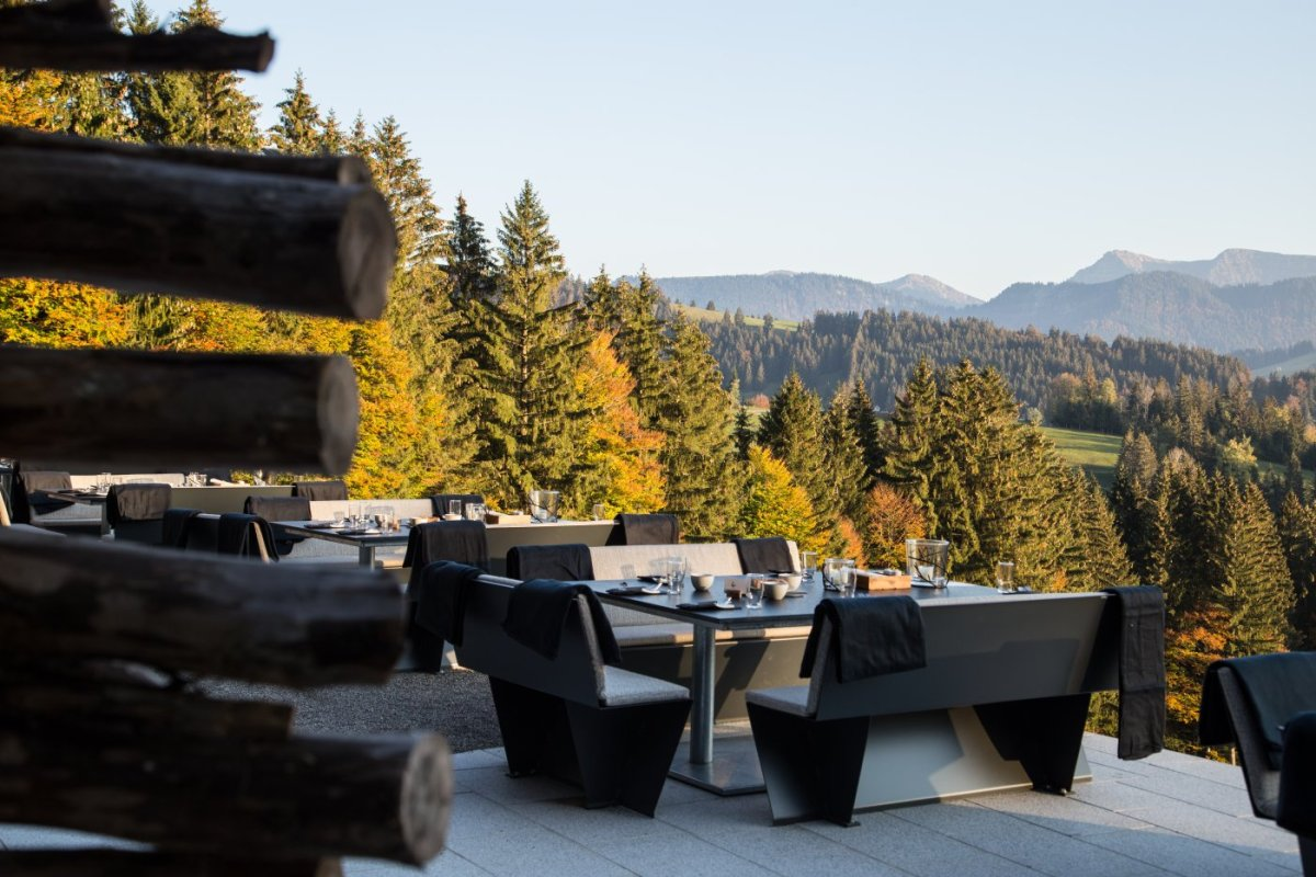 Kulinarik am Berg zur Herbstzeit