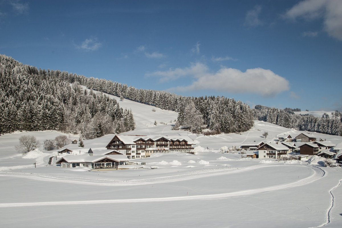 Haubers Naturresort im Winter