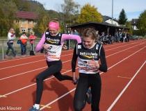 Ziel Mäd. Crosslauf 2017