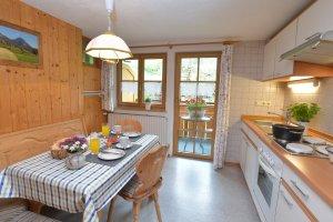 Ferienwohnung Rubihorn Küche