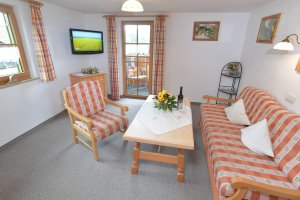 Ferienwohnung Rubihorn Wohnzimmer