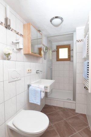 Ferienwohnung Rubihorn Dusche/WC