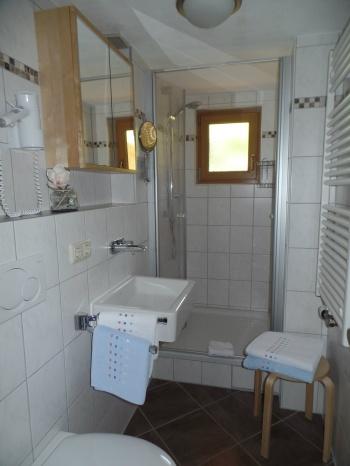 Ferienwohnung Rubihorn F✷✷✷ Badezimmer