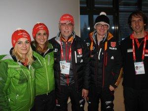 Biathlon Prominenz in Antholz