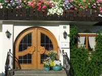 Hauseingang Frühling
