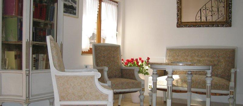 Aufenthaltsbereich Hotel garni Bergfreund