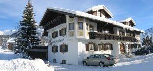 Winteransicht Hotel garni Bergfreund
