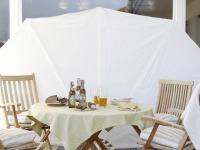 Lebensart - Terrasse mit eleganter Möblierung