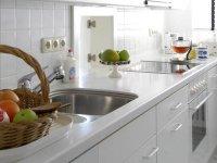 Funktional, modern, praktisch: die Küche