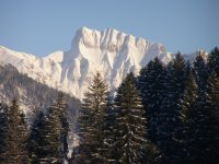 Blick aus dem Nebelhorn-Zimmer