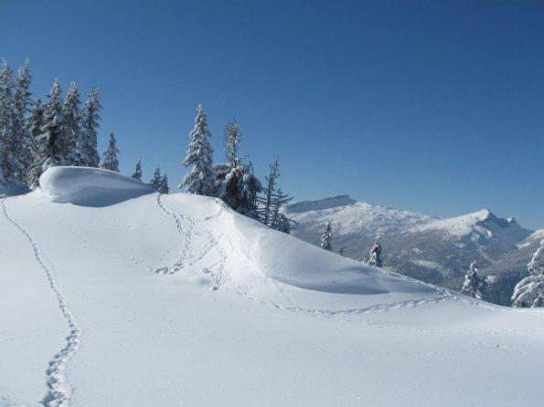 Blick Richtung Ifen Winter