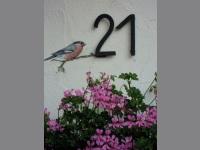 Unsere Hausnummer