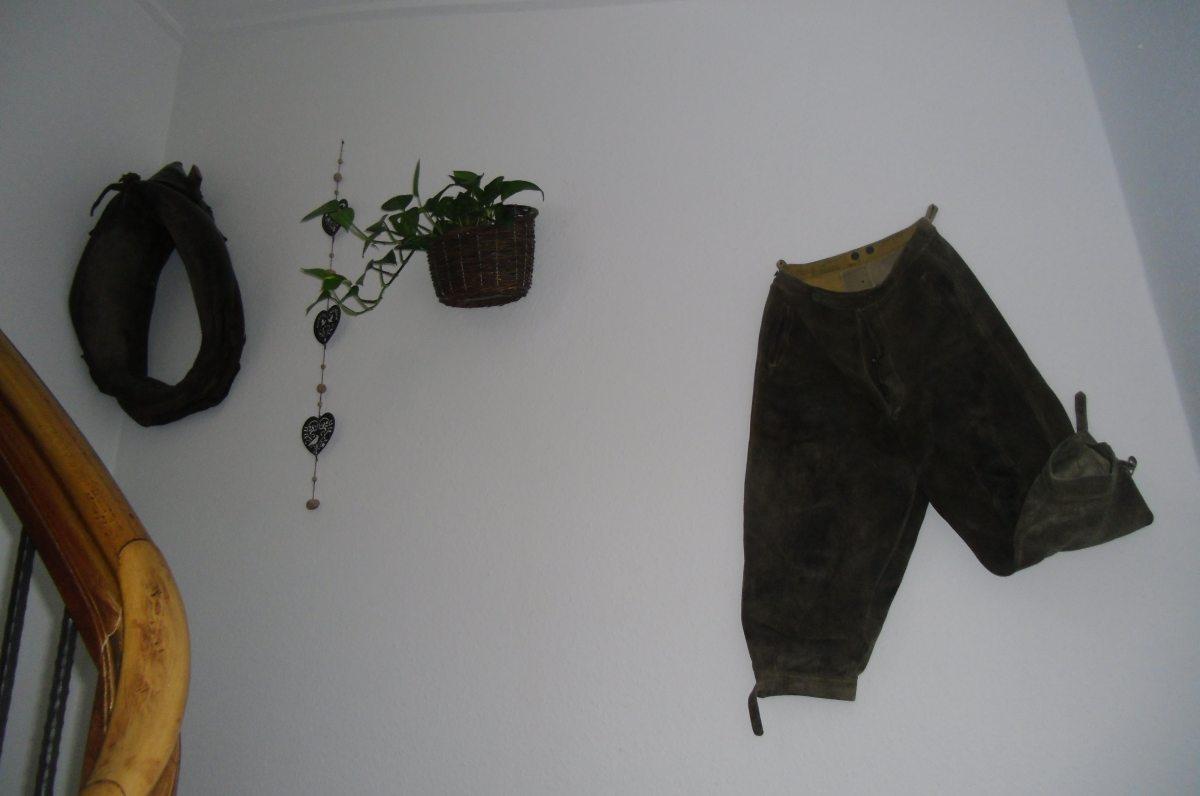 Dekoration im Hausflur
