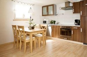 Ferienwohnung I: Küche
