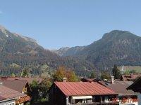 Blick vom Balkon nach Osten