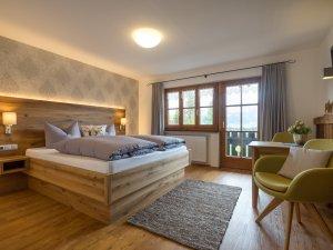 Wohnung Kuhstall-Schlafzimmer