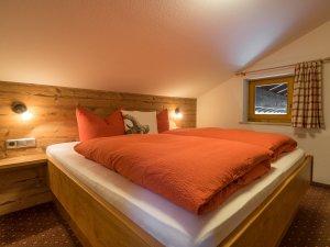 Wohnung Steinbock-Schlafzimmer