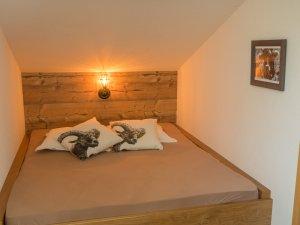Wohnung Steinbock-Schlafbereich