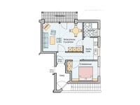 Grundriss Appartement 2