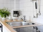 Helle u. freundliche Küche in der Ferienwohnung Söllereck