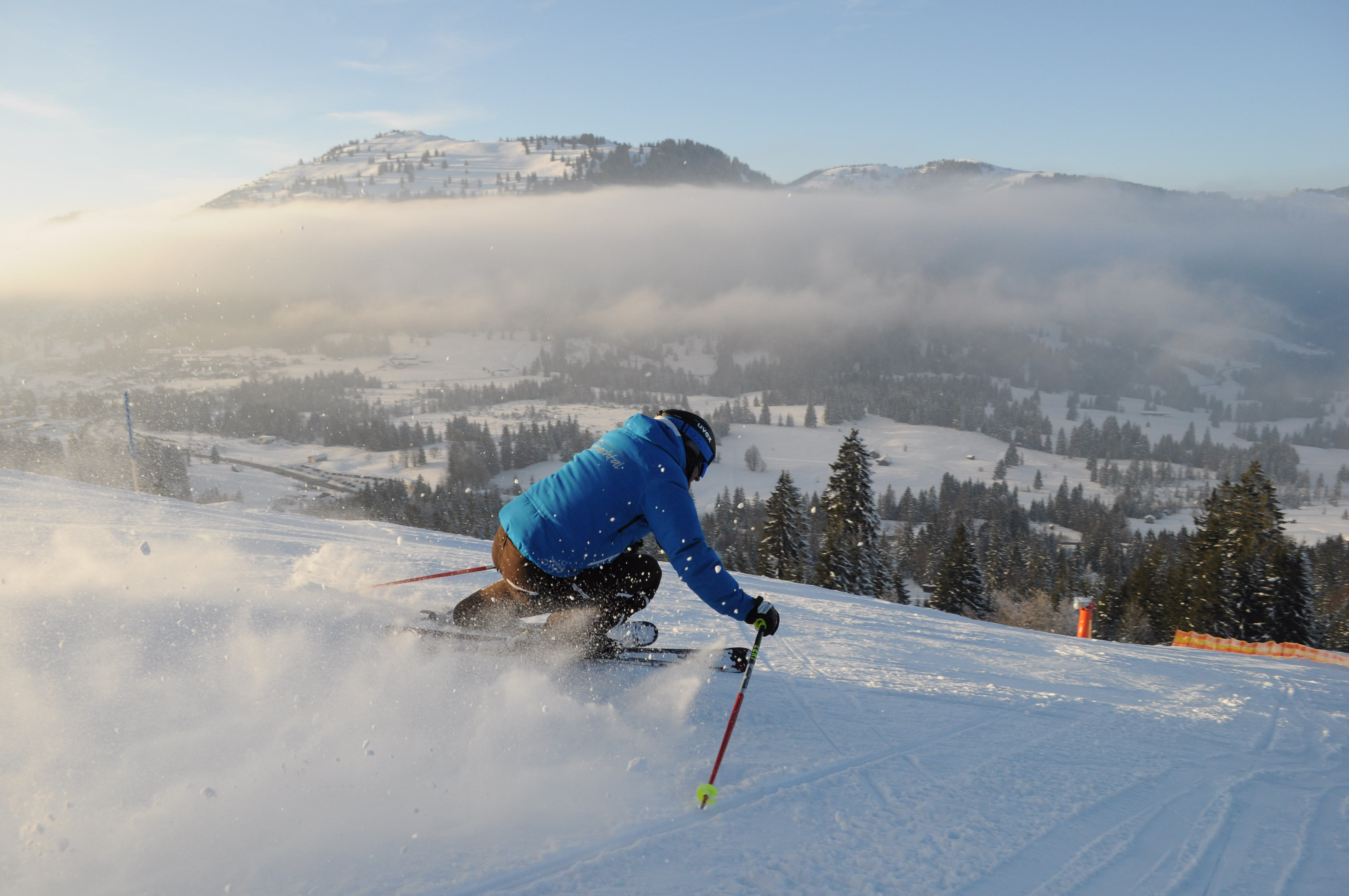 Alpinski-Spaß im Oberjoch