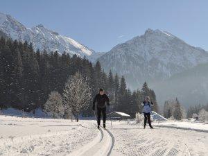 Langlauf und Skaten