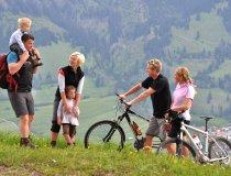 Wandern mit Kindern oder Moutainbiken