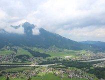 Blick nach Reutte von der Schaufestung Schlosskopf