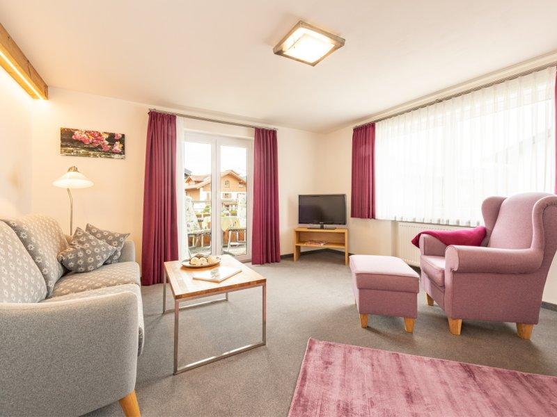 Haus Murmele_Wohnung Edelweiß_Wohnzimmer
