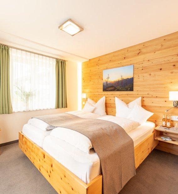 Murmele_Wohnung Steinrösl_Schlafzimmer
