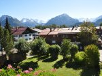 Panoramablick in die Oberstdorfer Berge