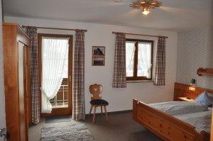 Ferienwohnung Süd Schlafzimmer